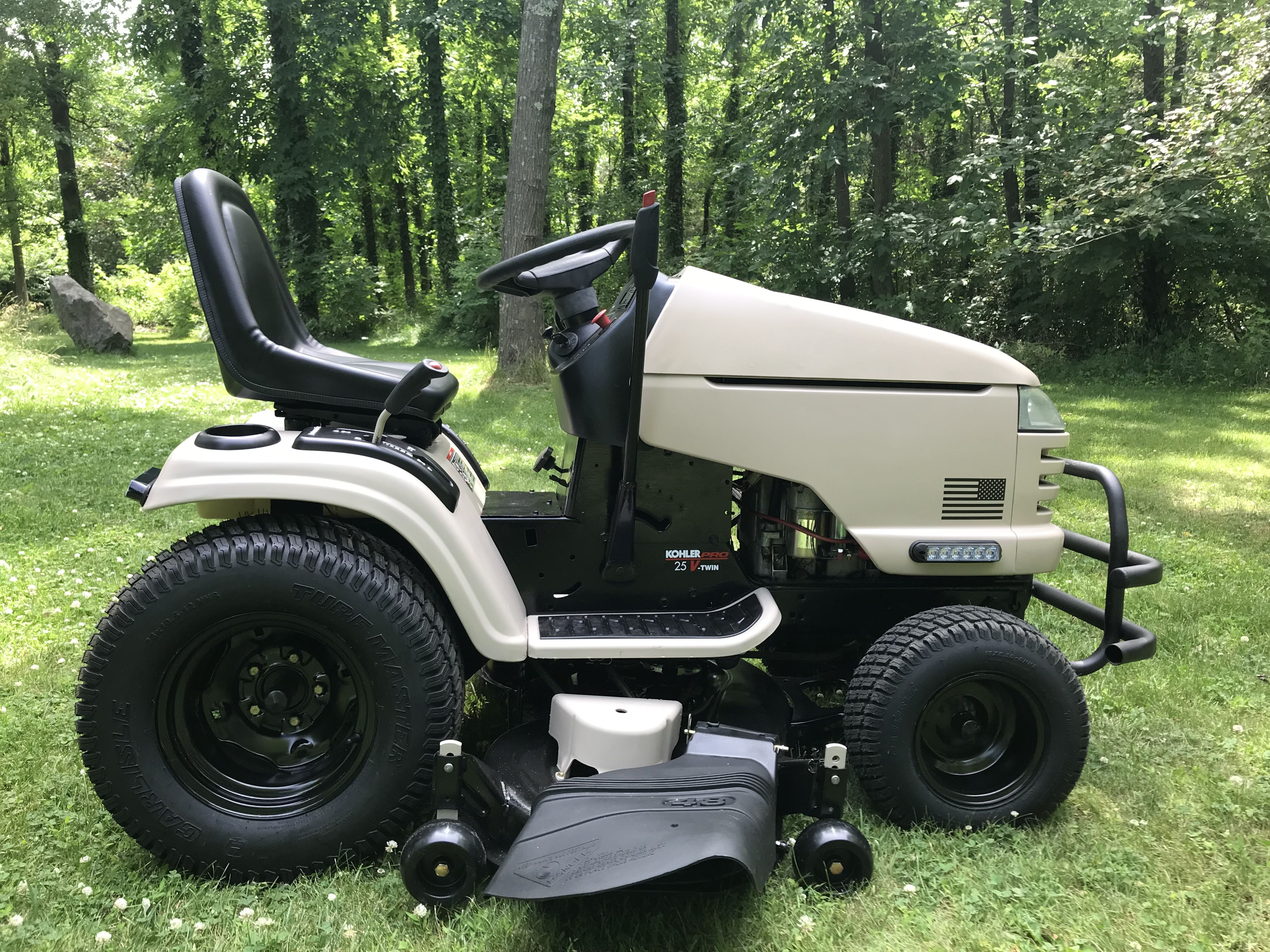 Usmc Craftsman Gt5000 Tractor I Restored April 2019 Riding Mower Riding Lawnmower Tractors