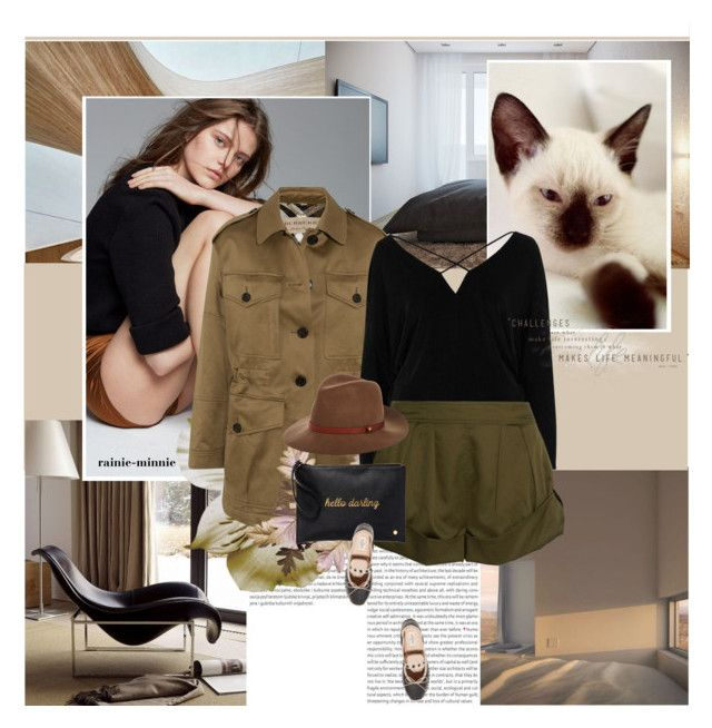 """""""With You.."""" by rainie-minnie ❤ liked on Polyvore featuring Oris, Burberry, River Island, Eres, Valentino, Deux Lux and rag & bone"""