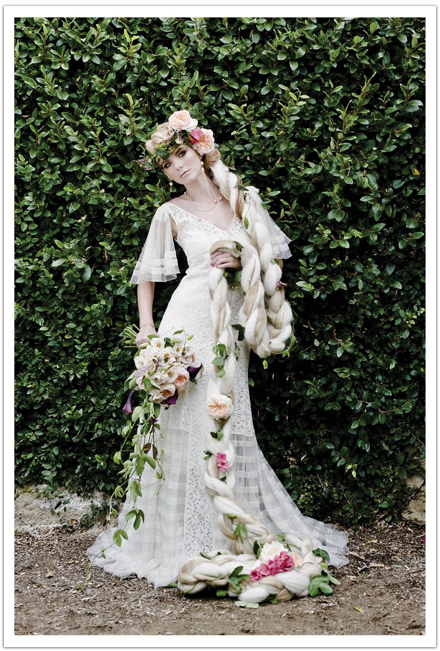 Alchemy fine events fairy tale wedding dress utterly engaged shoot once upon a bride fairy tale wedding inspiration shoot for utterly engaged alchemy fine events invitations monicamarmolfo Gallery