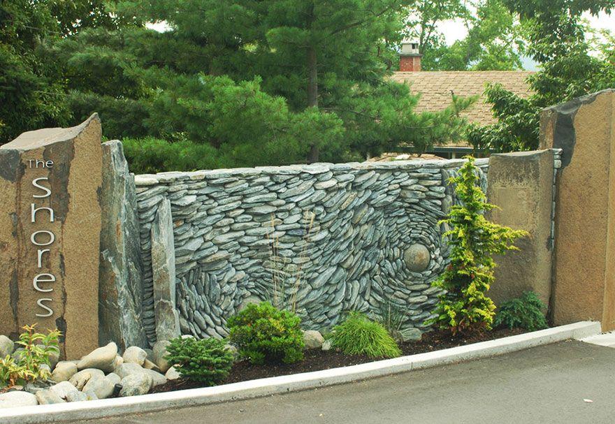 Artist Couple Creates Gorgeous Stone Wall Art Installations   Homes ...