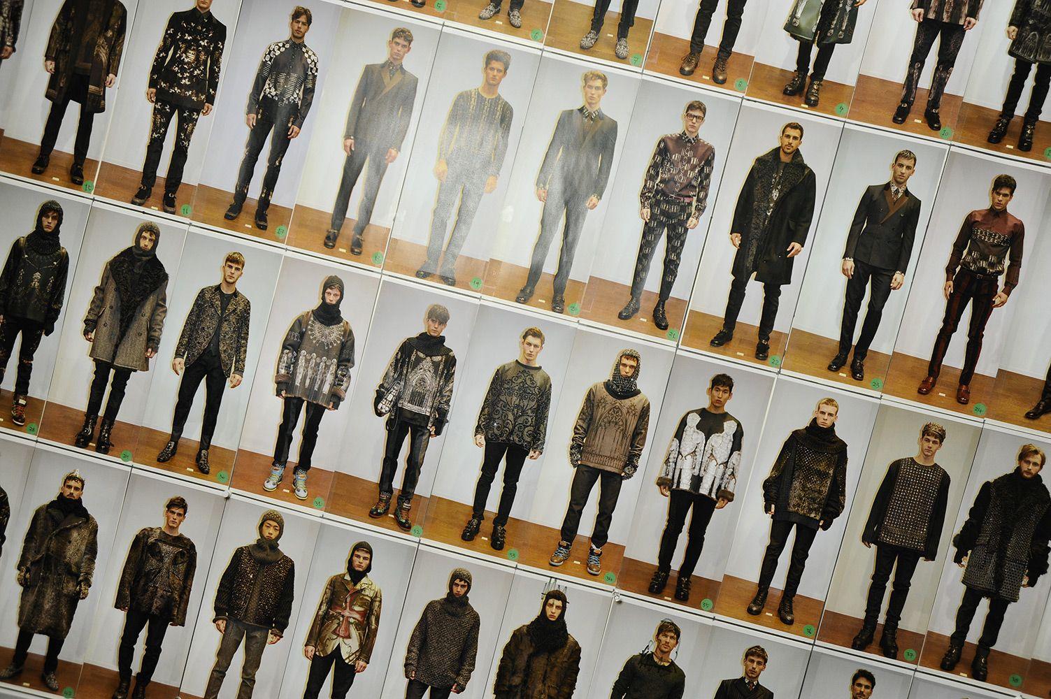 Dolce & Gabbana Man Runway Backstage Photo Gallery – Fall Winter 2014 2015
