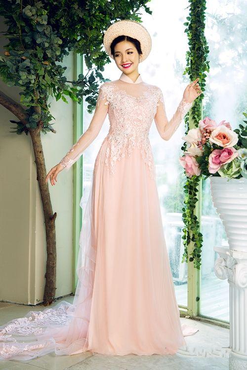 ao-dai-cuoi-dep-long-lay- | Wedding | Pinterest | Ao dai, Wedding ...