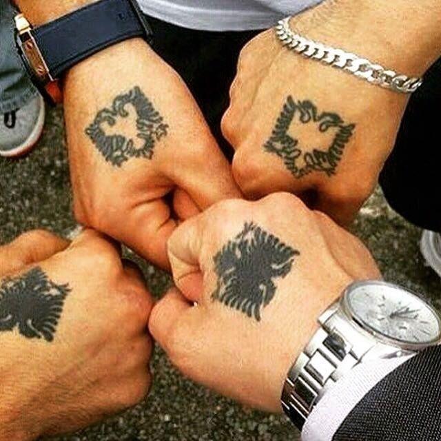 Albanian Tattoos Eagles Albanian Tattoo Tattoos Albanian Eagle