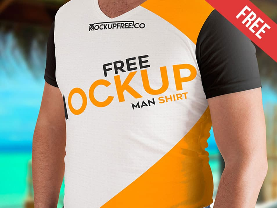 Download Man T Shirt Psd Mockups Mockup Free Psd Mockup Psd Shirt Mockup