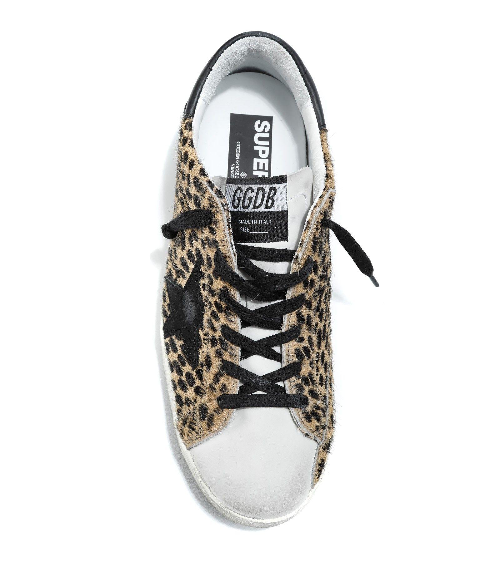 GOLDEN GOOSE Sneakers Superstar Exclu Lulli Leopard Pony
