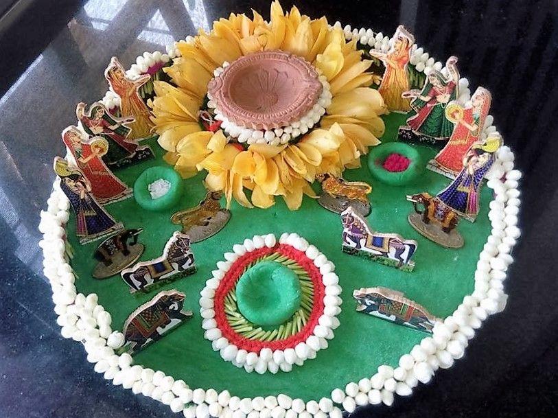 Aarti Thali Decoration Ideas For Janmashtami Thali Decoration