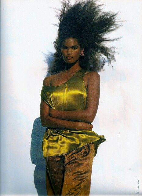 Elle UK 1989 Model Gail O'Neill Ph: Tiziano Magni Stylist: Debbie Mason