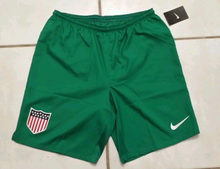 3345f1ee2 Rare NWT NIKE USA National Team Centennial GREEN Soccer Shorts Men s Large   Nike  USA