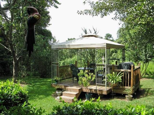 garten entspannung gestaltung pergola sitzecke | garten, Gartenarbeit ideen