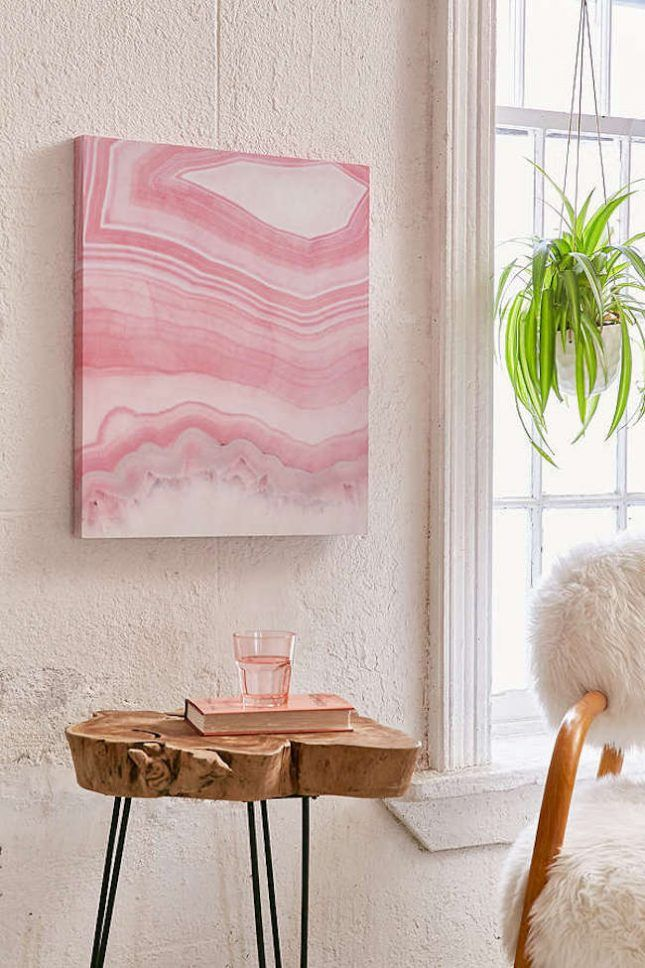 20 Millennial Pink Decor Must-Haves for Spring | Flats, Room decor ...
