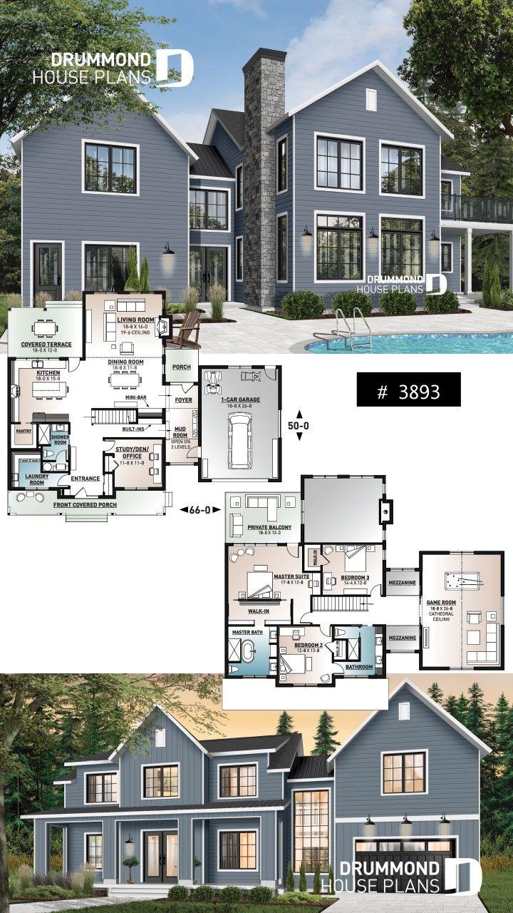 Sims 4 8 Bedroom House Modern Farmhouse Plans Sims 4 House Plans Modern House Plans