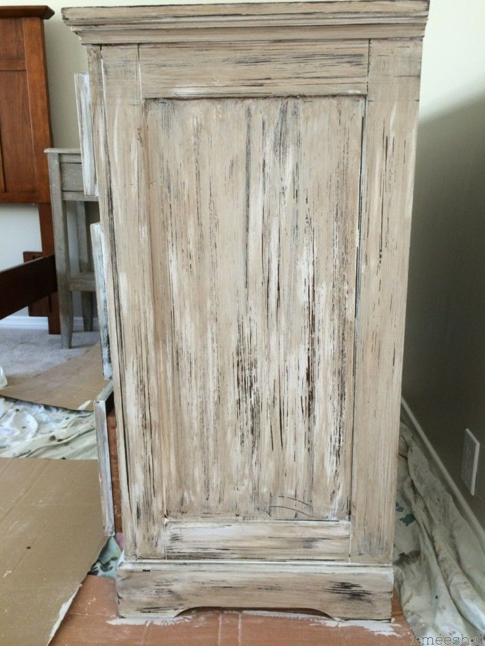 How to paint wood to look like weathered Restoration Hardware wood  Step 3   using. How to paint wood to look like weathered Restoration Hardware wood