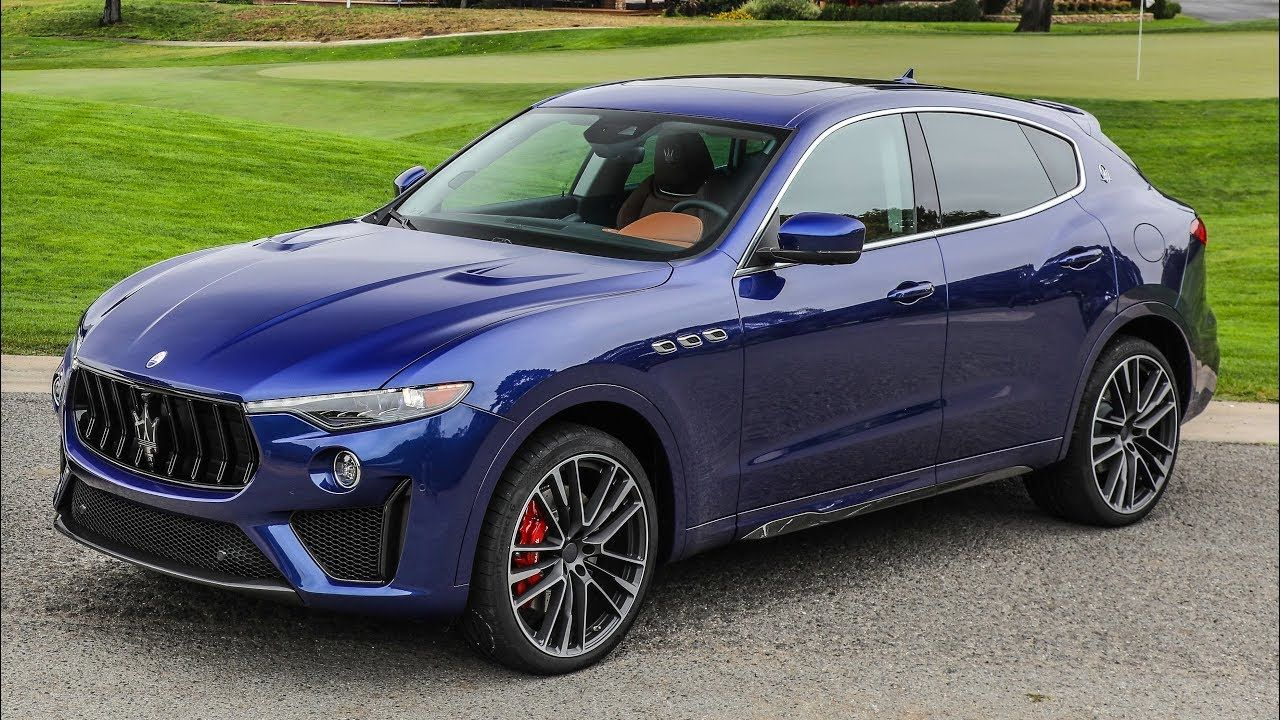 2019 Maserati Levante Trofeo And Gts Monterey Car Week 2018