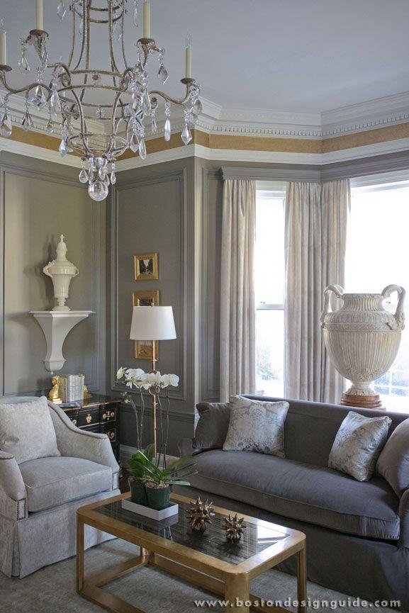 Carter & Company Interior Design  Luxury Home Design In Boston New Living Room Boston Design Design Ideas