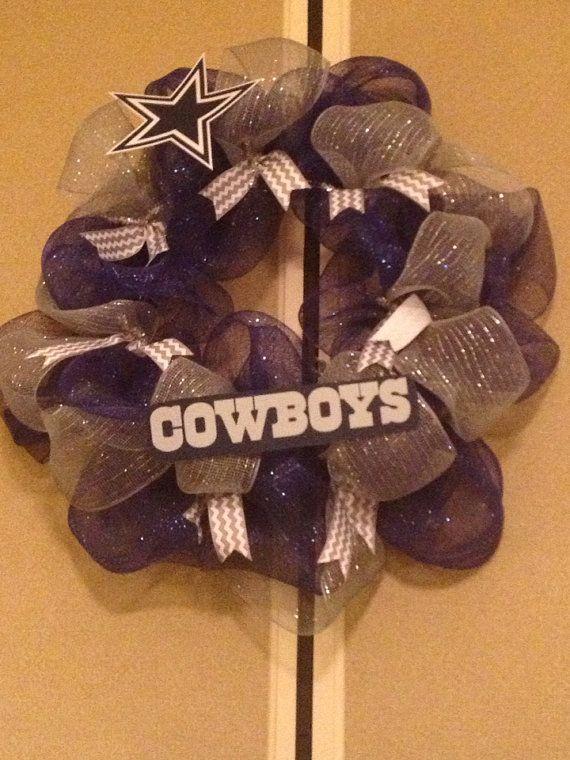 Dallas Cowboy Wreath Saul Gloria S Baby Shower Pinterest