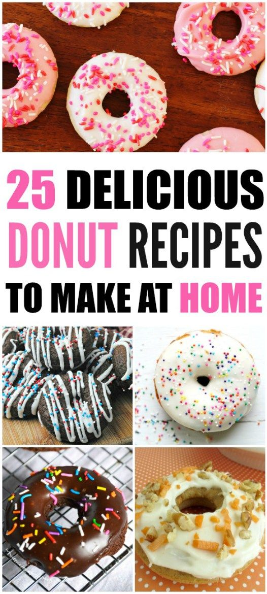 doughnuts simple and delicious recipes to make at home