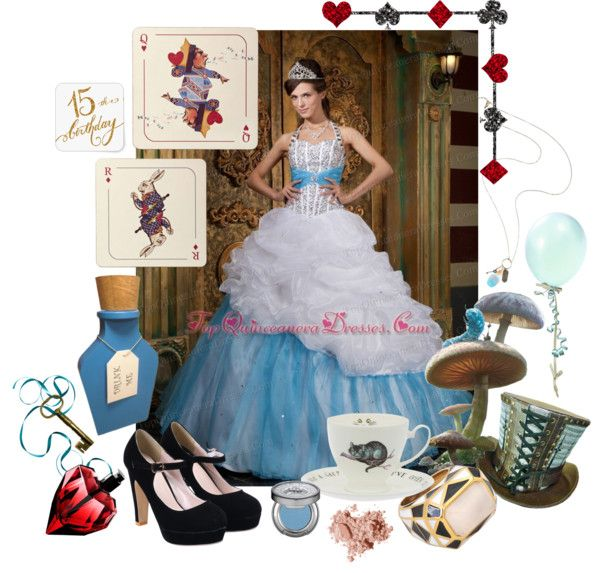 c1fed7cb309 Alice in Wonderland Sweet Fifteen Quinceanera Theme