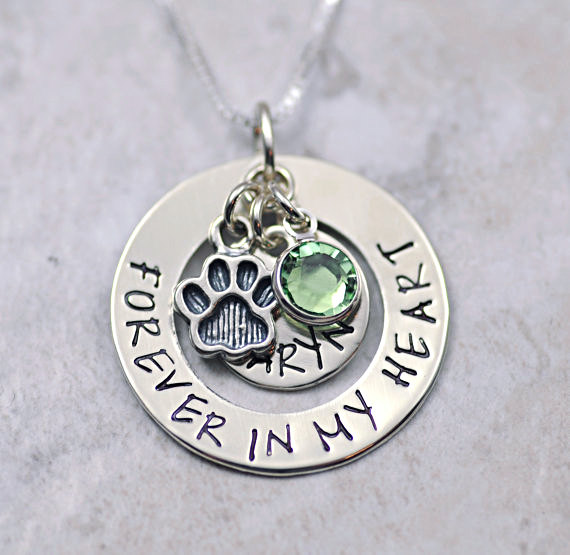 dog remembrance necklace