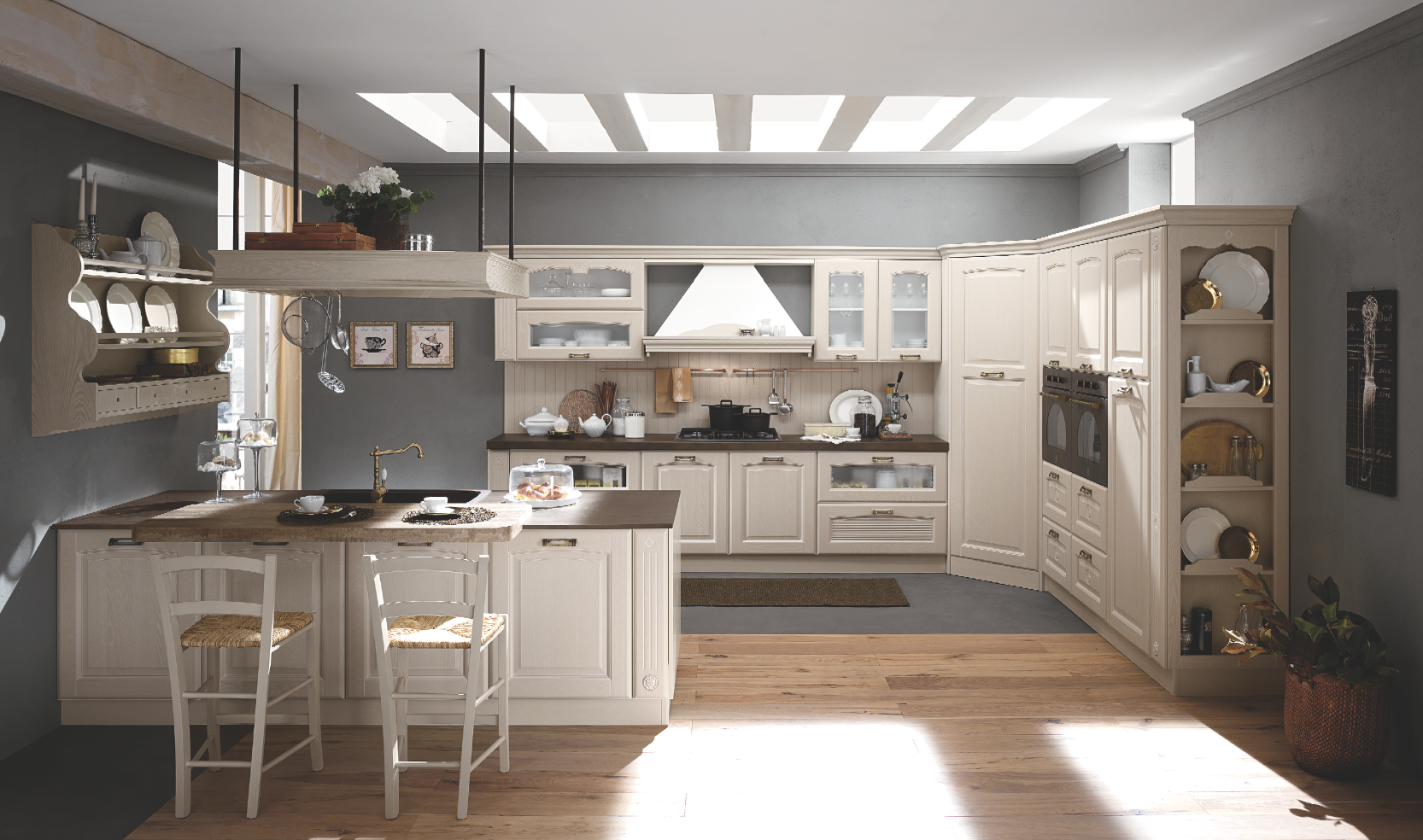 Cucina Mobili Classica.Pin Su Spaces Where Eating Is A Pleasure Kitchens