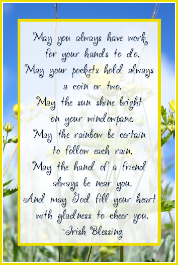 Scottish Blessing | Blessings and Benedictions | Blessed