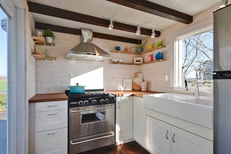 Custom Mobile Tiny House With Large Kitchen And Two Lofts   IDesignArch   Interior  Design,