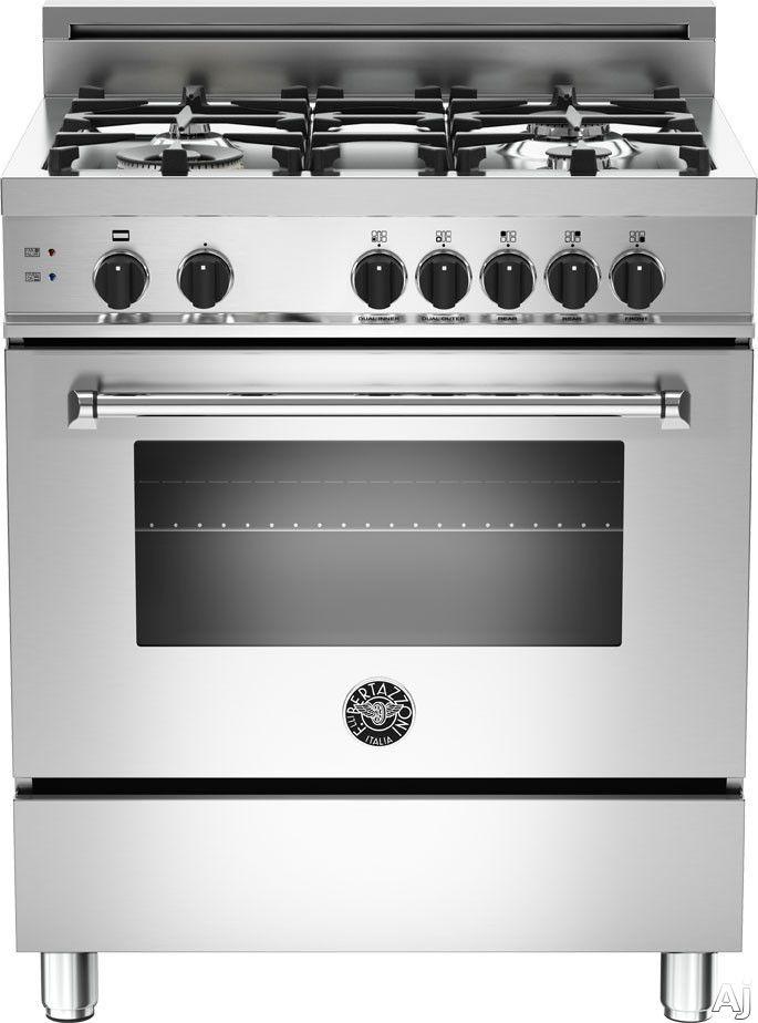 Bertazzoni Master Series 30 Inch Gas Range Gas Oven Kitchen
