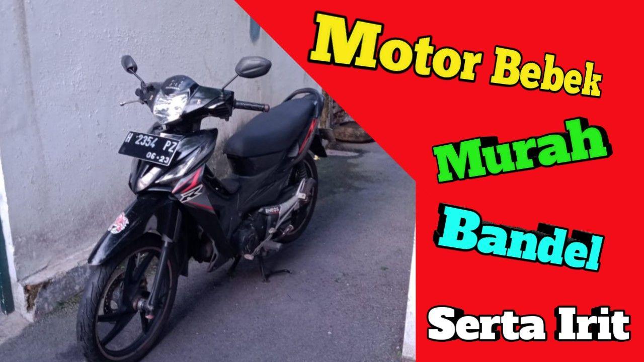 Terunik Review Motor Honda Revo 100cc Tahun 2008 Motor Bebek Sporty Motor Honda Miniatur
