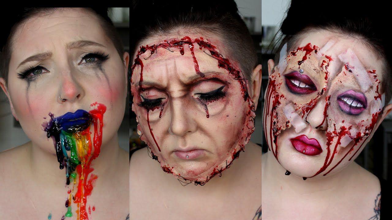 Snapchat Filters IRL Halloween Makeup Tutorial Makeup