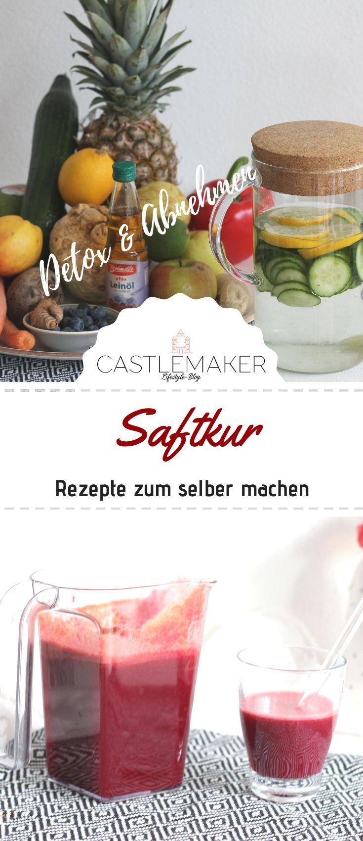 Säfte für die Saftkur selbst herstellen - Saftkur Rezepte + Fastensuppe « CASTLEMAKER Lifestyle-Blog