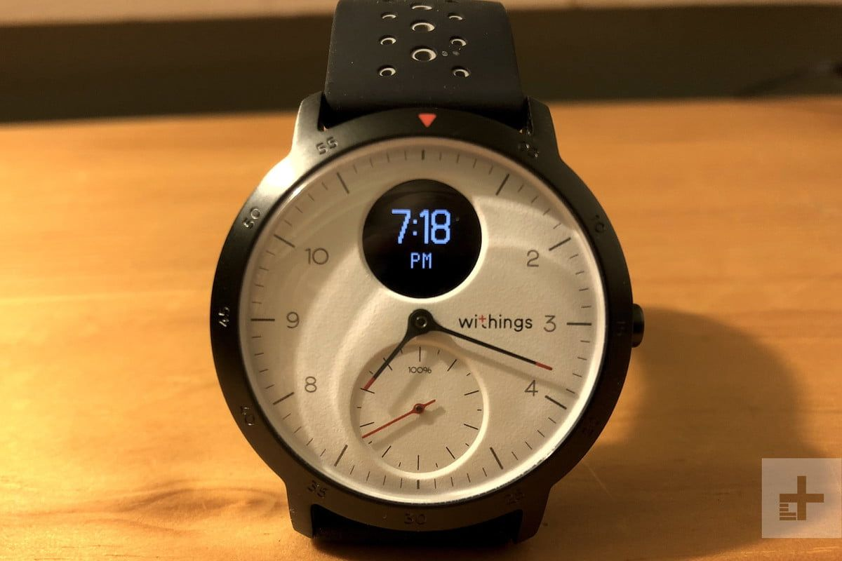 Withings Reclaims Its Brand With The Steel Hr Sport Fitness Watch Fitness Watch Sports Sport Fitness