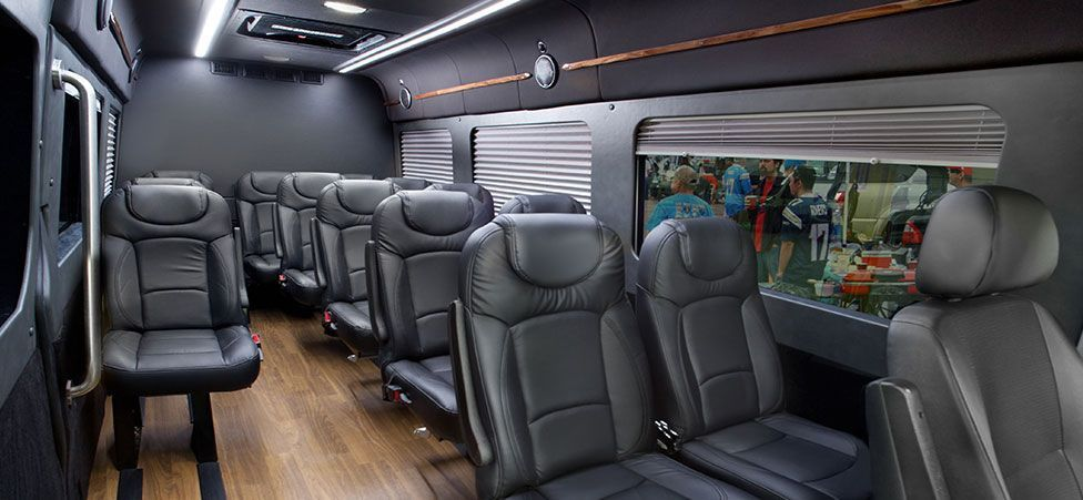 Interior Of Mercedes Sprinter Passenger Van With Images