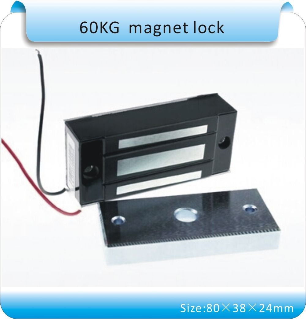 Small Electrolock Sy L60s Electromagnetic Lock Mini 60kg Magnetic Lock Dc 12v Fire Door Use Electromagnetic Lock Magnetic Lock Electric Lock
