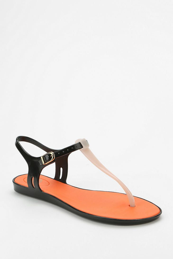 Mel By Melissa Shoes Two-Tone Thong Sandal
