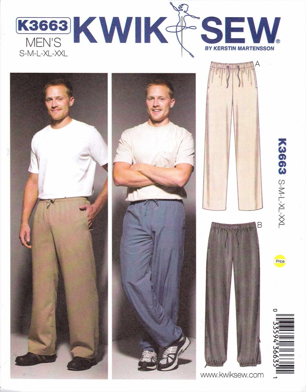 Kwik sew sewing pattern 3663 mens sizes s xxl chest 34 52 kwik sew sewing pattern 3663 mens sizes s xxl chest 34 52 jeuxipadfo Choice Image