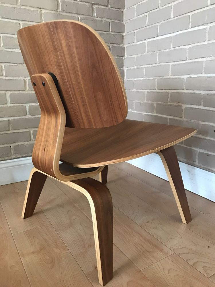Vintage mid-century modern plywood LCW Eames Herman Miller Chip Chair #MidCenturyModern
