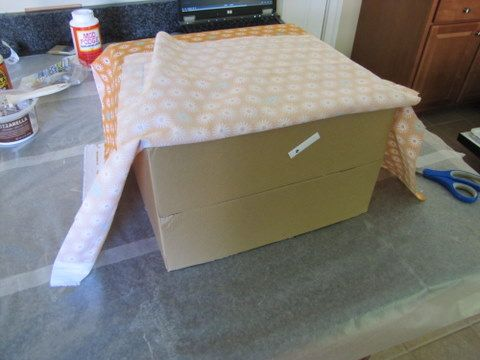Are You In Need Of Some Decorative Custom Storage Boxes, But On A Tight  Budget? Hereu0027s How I Turned Trash To Treasure   By Making My Own Fabric Covered  ...