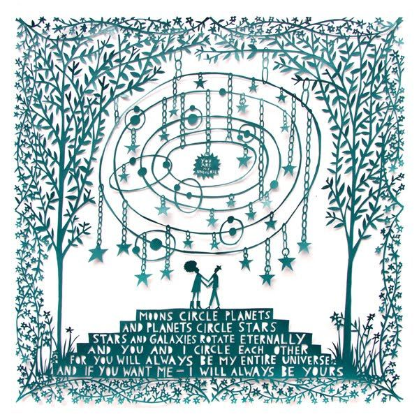 you are my universe by rob ryan.