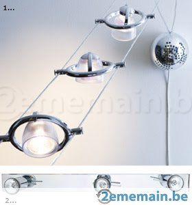 luminaire lampadaire suspension rail