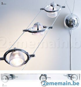 Luminaire Lampadaire Suspension Rail Ikea A Vendre