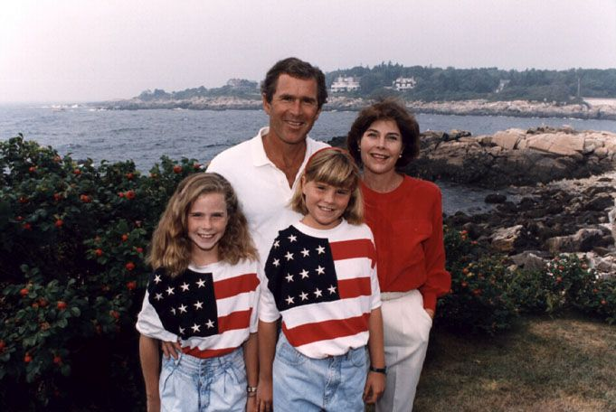 Back In The Good Old Days American Colors Bush Family Barbara