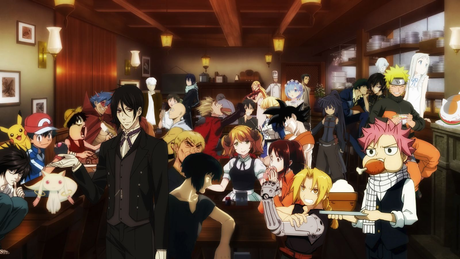 Pin By Meringue Cookie On Restaurant To Another World Anime