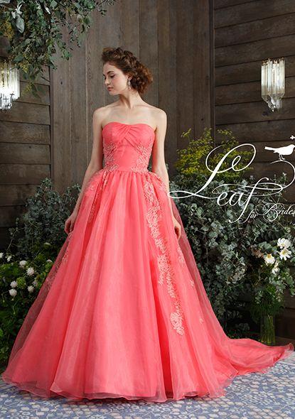 カラードレス|【公式】ティアラ・ブティック|ウェディング衣裳