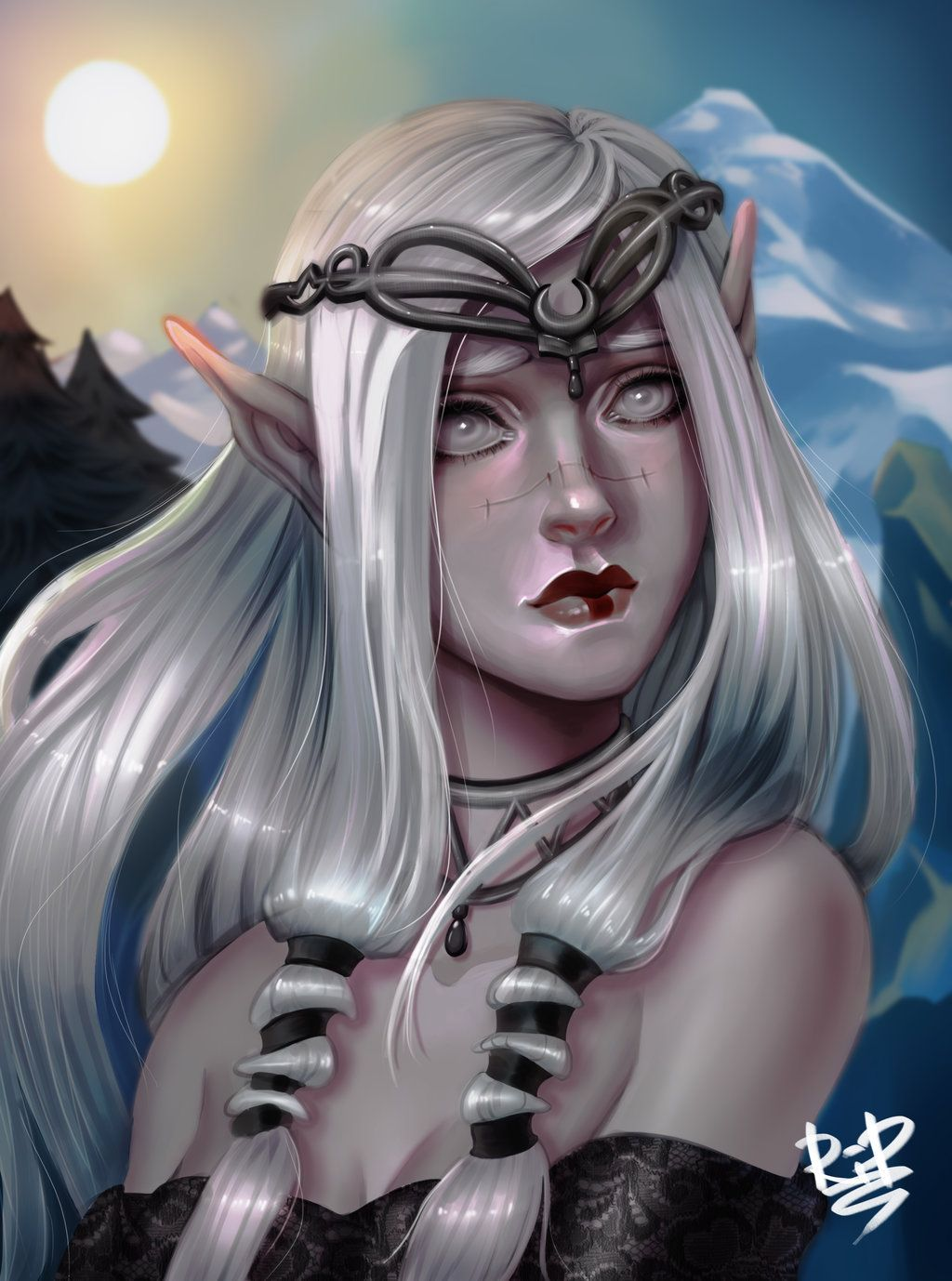 snow elfrali-95 | female elves - fantasy | pinterest | elves