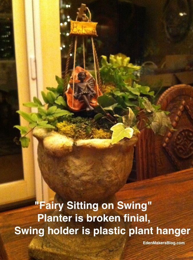 Broken-finial-miniature-garden-planter-fairy-swing