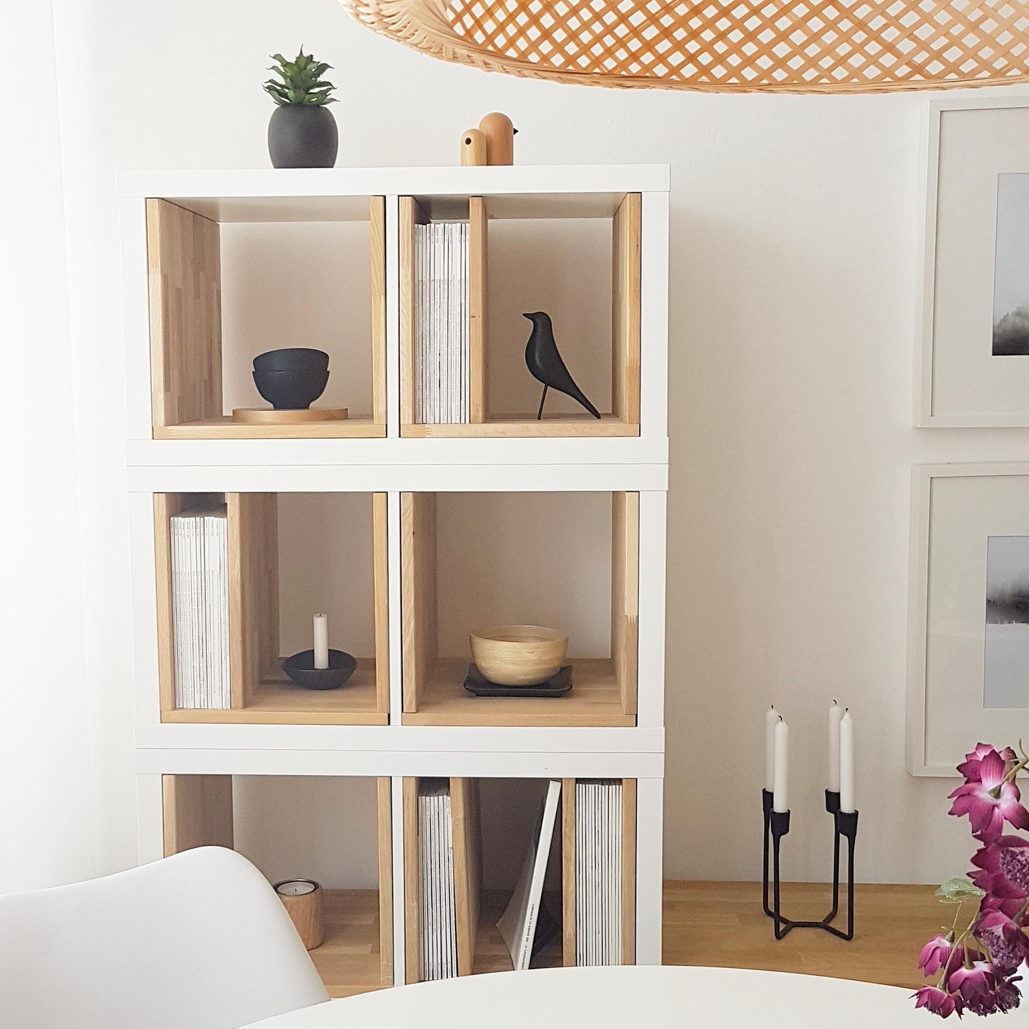Ikeahack Wohnzimmer Kallax Kallax Elemente Mit Ikea Diy