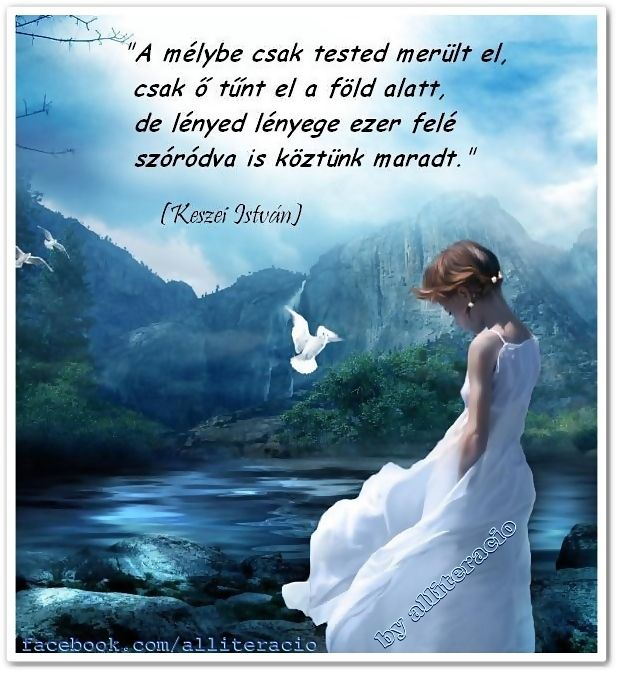 halottakra emlékezés idézetek gyász idézet Keszei_István.   Memoriam, Life, Zen buddhism
