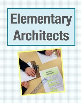 Elementary architects math project design blueprints explore area architectural design commission project for 3rd graders involves math concept of area calculation malvernweather Choice Image