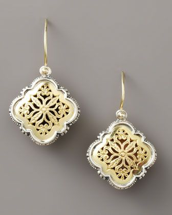 Filigree Clover Drop Earrings By Konstantino At Neiman Marcus I Always Love