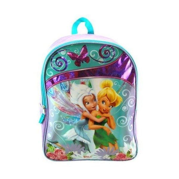 16 Disney Fairies Tinkerbell Large Backpack-tote-bag-school