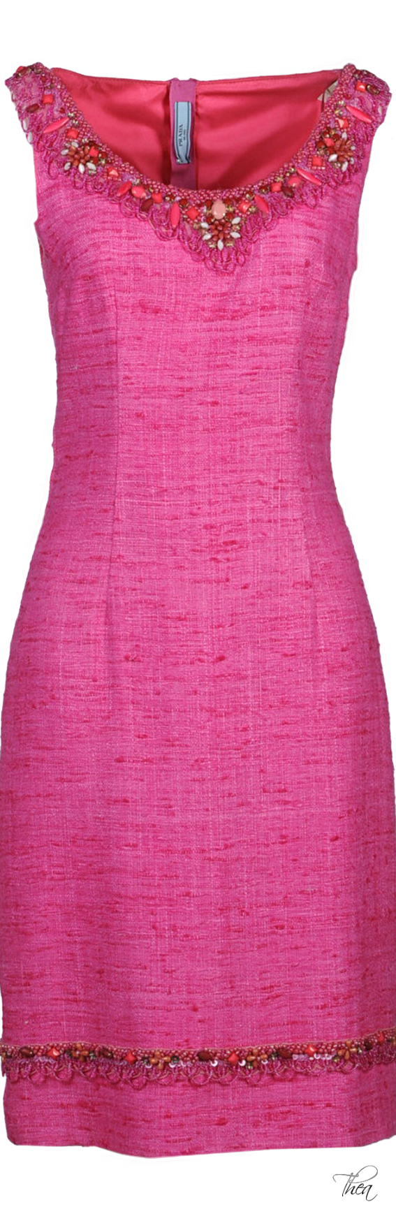 Prada ○ Pink Dress | ROPA | Pinterest | Vestiditos, Vestidos de ...